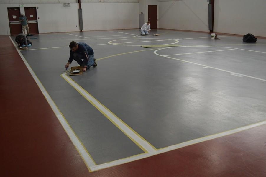 Basketball Court Paint
