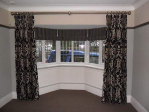 The Latest Bay Window Curtains Designs