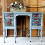 distressing painted furniture