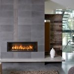 Electric Fireplace With Glass Rocks