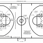 Junior High School Basketball Court Dimensions