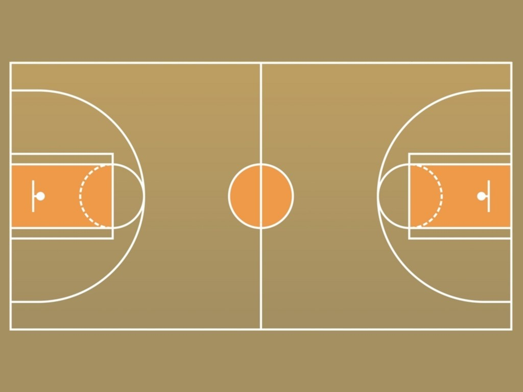 Layout Of A Court