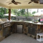 outdoor kitchen plans free