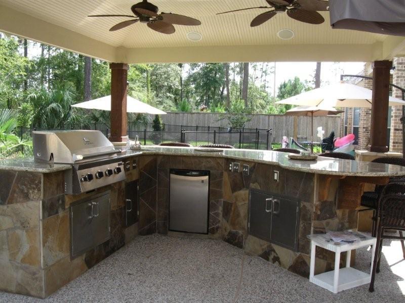Outdoor Kitchen Plans Free