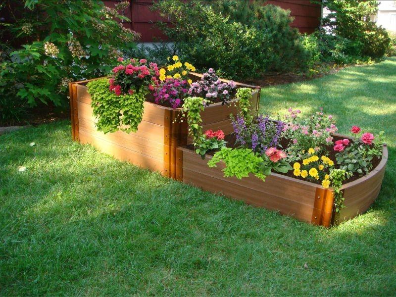 Raised Garden Bed Plans   A Creative Mom