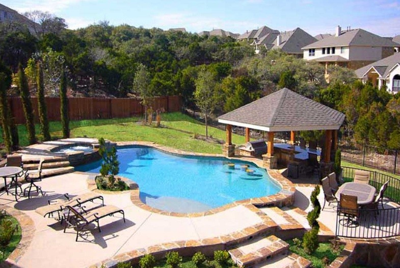 Beautiful Backyard Pools
