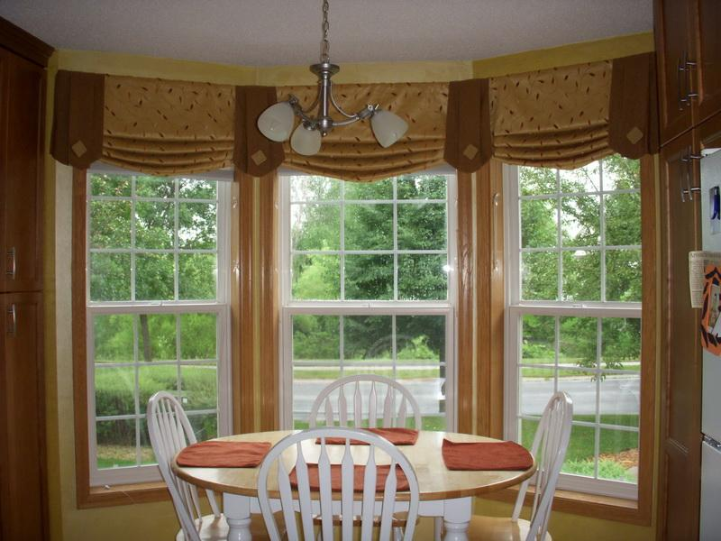 Curtain For Bay Window A Creative Mom