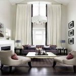 Modern Living Room Curtain Ideas
