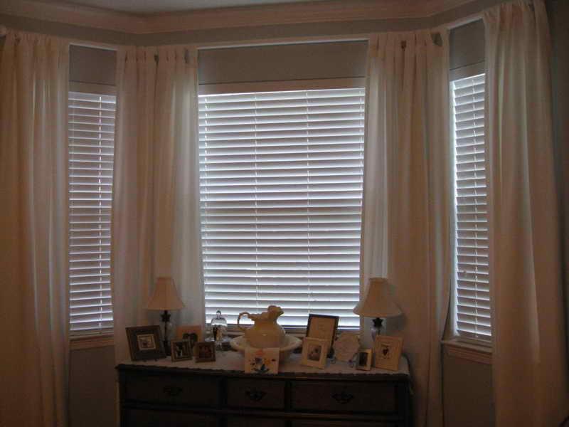 Window Treatment For Bay Window