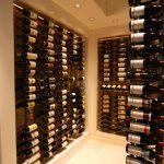 wine cellar wall mounted wine storage rack