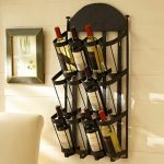 Attrezzi Wall Mount Wine Rack