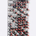 big metal wine racks