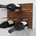 Driftwood Wall Mounted Wine Rack