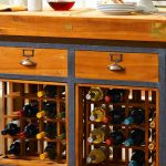 Kitchen Island Design With Wine Rack