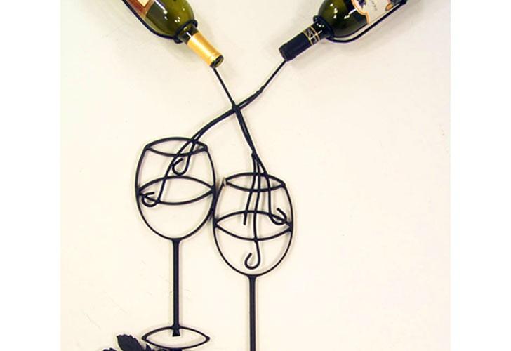 Metal Art Wine Racks