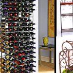 Wine Rack Furniture Metal