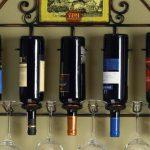wine racks metal wall mounted