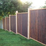 Bamboo Fence Cover