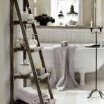 bathroom towel bar height