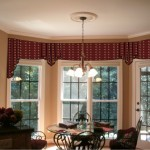 Bay Window Curtain Rod System