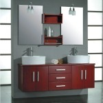 contemporary bathroom vanity