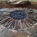 in ground fire pit diy