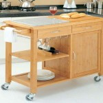 Kitchen Island Cart Drop Leaf