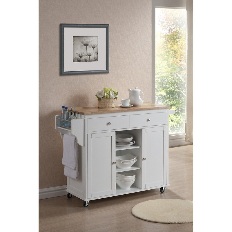 Kitchen Island Carts With Drop Leaf
