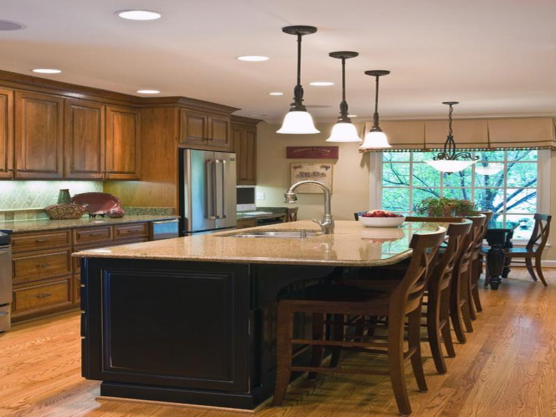 Kitchen Island With Bar Seating