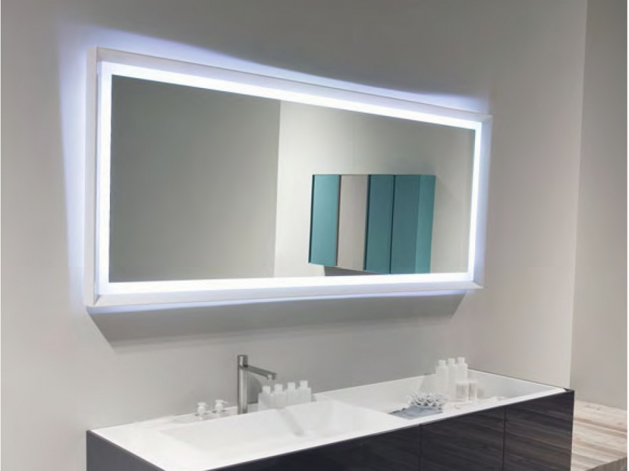 Large Bathroom Mirror