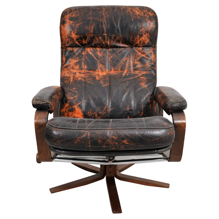 Leather Swivel Dining Chairs