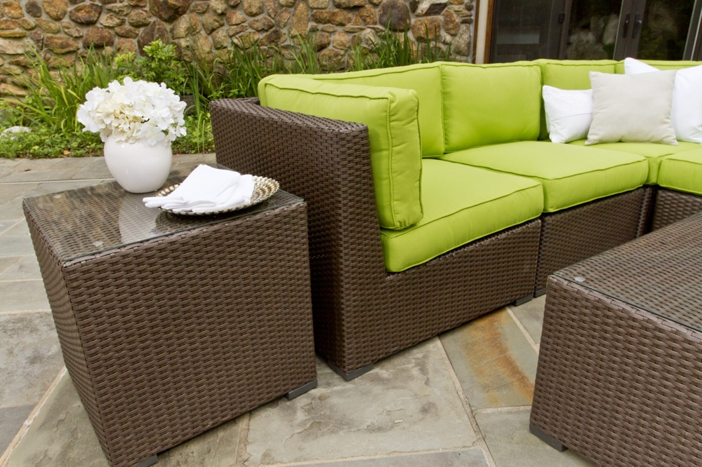Outdoor Wicker Chairs With Cushions