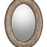 oval bath mirror
