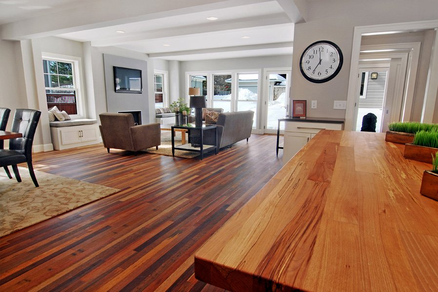 Reclaimed Wood Hardwood Floors