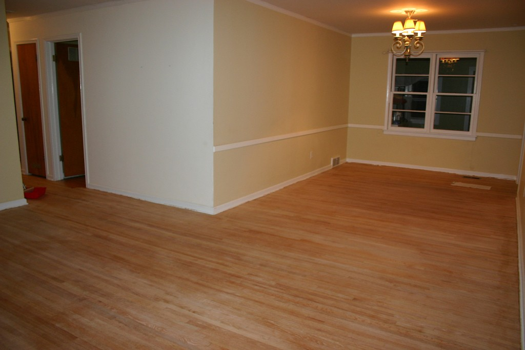 Refinishing Wood Floor