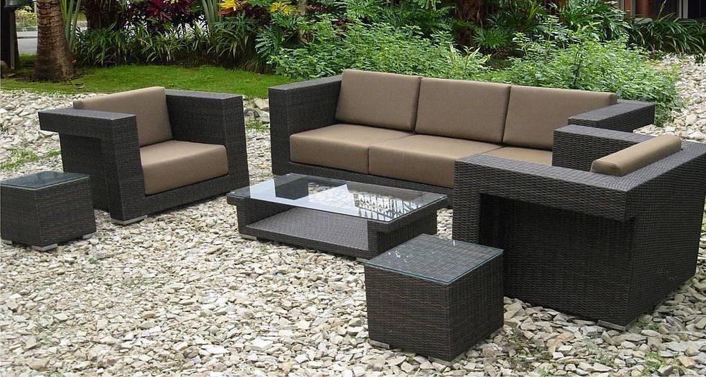Resin Wicker Outdoor Furniture Set