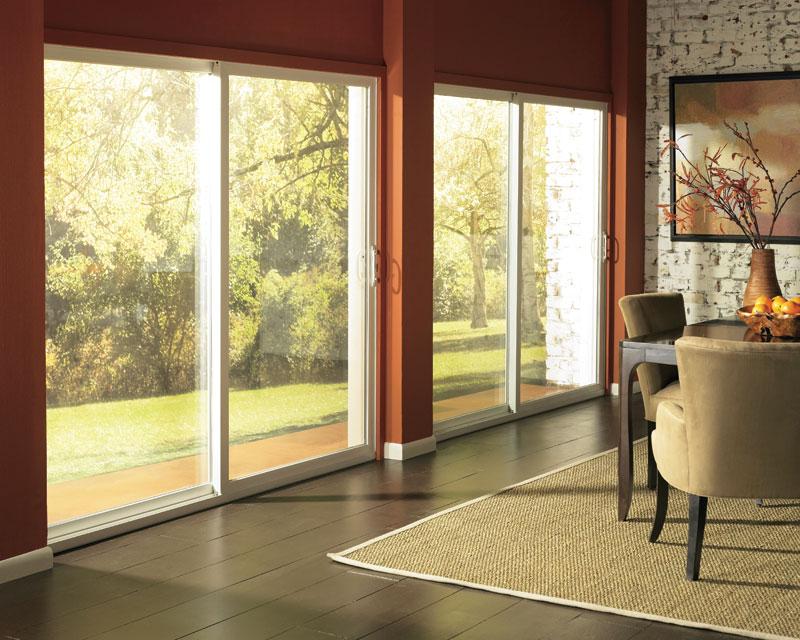 Sliding Glass Door Interior