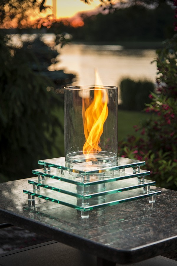 Tabletop Fire Pit For Smores