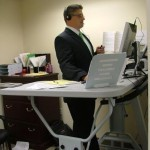 Manual Treadmill Desk