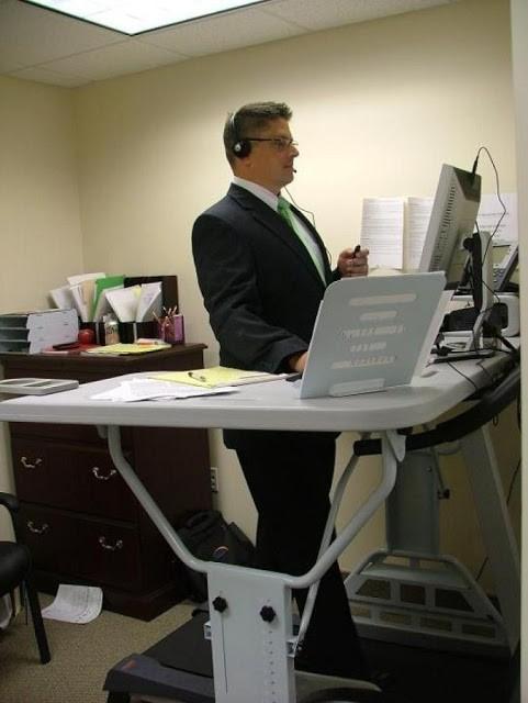 Manual Treadmill Desk