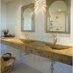Trough Sink Bathroom Vanity
