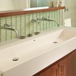 Trough Sink Vanity Bathroom