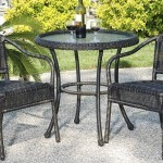 wicker bar set