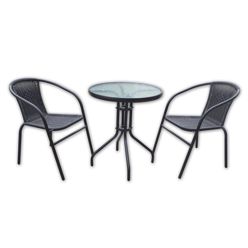 Wicker Bistro Chairs