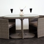 Wicker Bistro Table