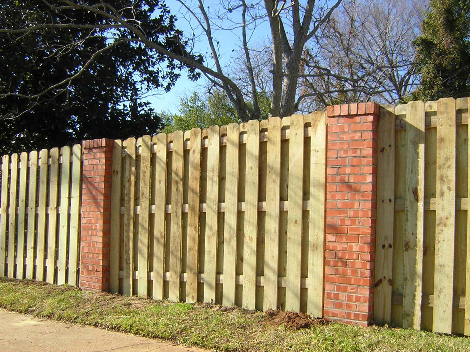 Building A Shadow Box Fence