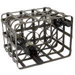 commercial metal wine racks