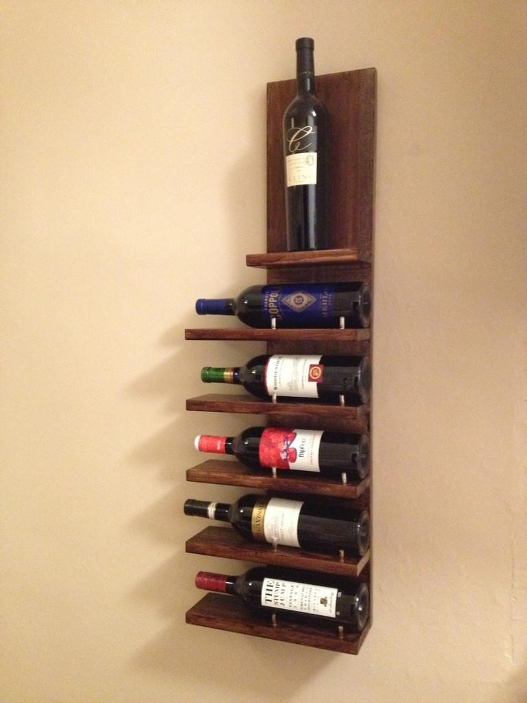 Diy Wine Bottle Rack