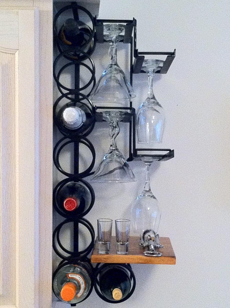 Hanging Wine Racks Metal