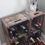 lattice wine rack diy
